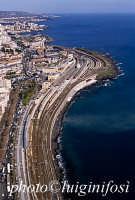 veduta aerea della stazione ferroviaria di catania  - Catania (5626 clic)