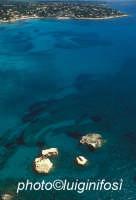 il colore del mare di fontane bianche in una veduta aerea  - Fontane bianche (8090 clic)