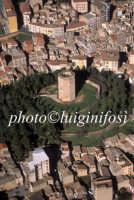 veduta aerea della torre di federico II  - Enna (6556 clic)