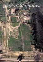 veduta aerea del sito archeologico  - Morgantina (8692 clic)