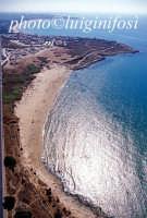 veduta aerea della spiaggetta di costa di carro  - Sampieri (7743 clic)