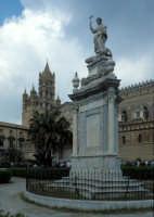 la cattedrale e la statua di s. rosalia PALERMO Luigi Nifosì
