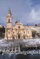 la cattedrale di san giovanni dopo la neve  - Ragusa (2218 clic)