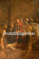 il seppellimento di santa lucia del caravaggio  - Siracusa (1462 clic)