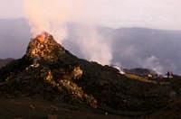 un cono a quota 3200  - Etna (2041 clic)