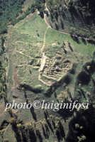 veduta aerea del sito di montagna di marzo  - Morgantina (8394 clic)