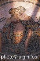 villa del casale, particolare dalla stanza dell'eros   - Piazza armerina (2563 clic)