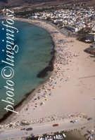la spiaggia di San Vito lo Capo vista dall'alto  - San vito lo capo (6221 clic)