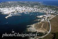 il porto e la città; a destra la tonnara dei Florio  - Favignana (7035 clic)