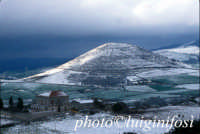 contrada castiglione dopo la neve  - Ragusa (5171 clic)