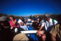 in barca sul fiume ciane  - Siracusa (2125 clic)