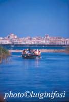 in barca sul fiume ciane  - Siracusa (2487 clic)