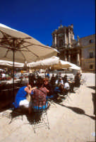 piazza duomo a Ortigia  - Siracusa (2216 clic)