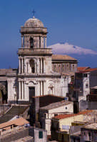 la chiesa di sant'antonio e l'etna   - Buccheri (6088 clic)