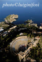 il teatro greco-romano e capo taormina  - Taormina (6133 clic)