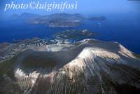 veduta aerea del cratere   - Vulcano (4950 clic)