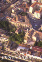 panorama aereo di Palermo - San Giovanni degli Eremiti  - Palermo (8150 clic)