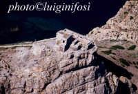 il castello di punta troia, sull'isola di marettimo, in una veduta aerea  - Marettimo (4218 clic)