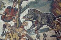 la villa romana del casale: scena della piccola caccia   - Piazza armerina (10073 clic)