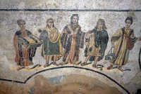 la villa romana del casale: mosaici  - Piazza armerina (2566 clic)