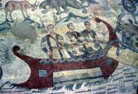 la villa romana del casale: scena della grande caccia  - Piazza armerina (4864 clic)