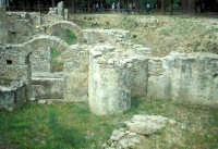 la villa romana del casale: esterno  - Piazza armerina (3373 clic)