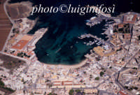 una veduta aerea del centro abitato dell'isola di favignana  - Favignana (2571 clic)