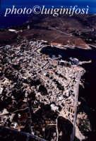 una veduta aerea del centro abitato dell'isola di favignana  - Favignana (2563 clic)