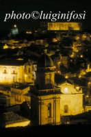 notturno col campanile di s.maria dell'idria in primo piano  RAGUSA Luigi Nifosì