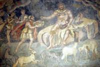 i mosaici della villa romana: la scena di Ulisse e Polifemo  - Piazza armerina (10201 clic)