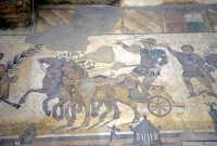 la villa romana del casale: mosaici  - Piazza armerina (3564 clic)