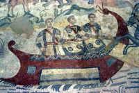 i mosaici della villa romana: scena della grande caccia  - Piazza armerina (3891 clic)
