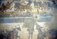 la villa romana del casale: mosaici  - Piazza armerina (2544 clic)