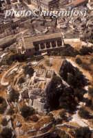 veduta aerea della chiesa di san matteo e del castelluccio SCICLI Luigi Nifosì