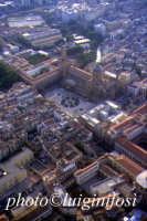 panorama aereo di Palermo - la cattedrale  - Palermo (4479 clic)