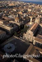 vista aerea di piazza duomo   - Catania (5010 clic)