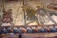 i mosaici della villa romana: scena della grande caccia  - Piazza armerina (3928 clic)