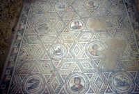la villa romana del casale: mosaici  - Piazza armerina (3418 clic)