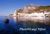 veduta dal mare di Levanzo  - Levanzo (2230 clic)