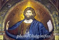 a) interno del duomo - particolare del Cristo Pantocrate  - Monreale (7559 clic)