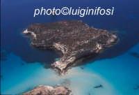 l'isola dei conigli in una vista aerea  - Lampedusa (3807 clic)