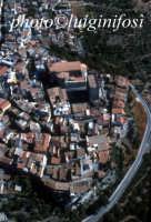 veduta aerea del centro storico   - Motta sant'anastasia (5272 clic)