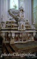 chiesa dei frati minori - altare in marmi mischi  - Ispica (4897 clic)