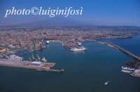 veduta aerea del porto  - Catania (3329 clic)