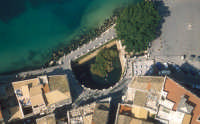 veduta aerea di fonte aretusa  - Siracusa (6775 clic)