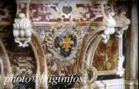chiesa dei frati minori - altare in marmi mischi, particolare  - Ispica (5090 clic)