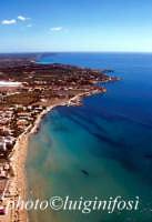 veduta aerea della spiaggia di Avola  - Avola (6639 clic)