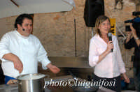 francesca planeta e lo chef gennaro esposito a cheese art 2004  - Ragusa (8194 clic)