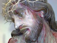 Espressivo volto del Cristo morto. Chiesa di Maria SS. della Carità di Licata (AG)  - Licata (2020 clic)