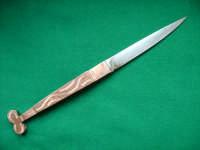 Saraga: coltello artigianale tipico siciliano forgito a mano  - San fratello (9680 clic)